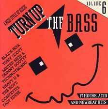 TURN UP THE BASS volume 6 17TR CD 1990 ACID HOUSE / NEW BEAT