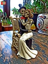 """A """"For Better For Worse"""" Skeleton Theme Figure. Great Wedding Gift."""