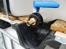 """IBC Wassertank - Anschlussadapter 3/4"""" Schlauchstück, Adapter für IBC Container"""