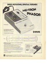 1974 MU-TRON Phasor Electric Guitar Sound Effects - Vintage Ad
