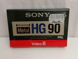 SONY METAL HG 90 HI-PACKING 8MM VIDEO VIDEO 8 VIDEOKASSETTE OVP