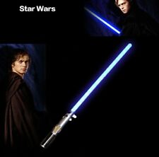 CLEARANCE Hasbro Star Wars Anakin Skywalker Ultimate FX Lightsaber Toy - Blue