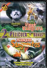 2 Una Pelicula + Bonos: La Cruz de Marihuana & Palenques Sangrientos, BRAND NEW