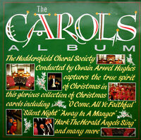 """Huddersfield Choral Society-The Carols Album-12""""Vinyl LP-1986-EMTV 43-EX (LP10)"""