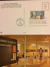US FDC #C69 ON GODDARD WING ROSWELL MUSEUM POSTCARD 8CT GODDARD STAMP FDC