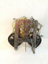 Antique Vintage Gilbert Clock Movement For Parts or Repair