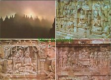 Indonesia Postcard - Borobudur Temple - Borobudur Stupas and Reliefs   RRR1150