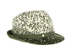 6a7f1b5c9aa BCBGeneration Woven Women s Fedora Hat Green Cream  40