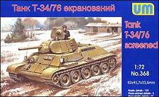 UM 368 T34/76-E screened tank 1/72