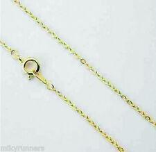 girocollo catenina colore oro misura 60 cm