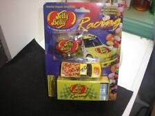 JELLY BELLY RACING COLLECTIBLE,, #02 JIM INGLEBRIGHT CAR WITH BEANS & TIN<<<NIB