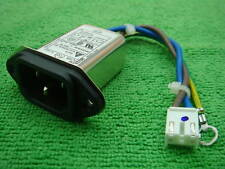 Delta 06GEEW3E 6A 120v-250V AC Power IEC Socket Universal Inlet EMI Noise Filter