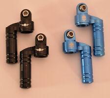 RC4WD Ballistic Fabrications Faux Piggyback Shock Cap (Blue) (2) RC4Z-S0291