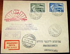 Reco Brief Sowjetunion Zeppelin Polarfahrt 1931 Leningrad Eisbrecher Malyguin 5