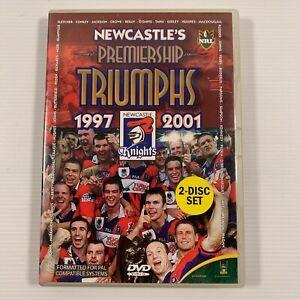 Newcastle Knights Premiership Triumphs 1997 & 2001 NRL Grand Final (DVD 2 discs)