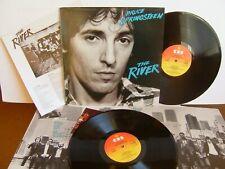 Bruce Springsteen - The River   CBS 88510 UK 2LP  1980 + Insert  EX