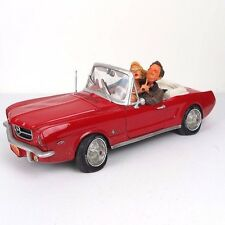 """'65 Ford Mustang by Guillermo Forchino Caricature Figurine Miniature 14""""L New"""