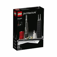 LEGO Architecture Chicago 21033 Building Kit Free Shipping