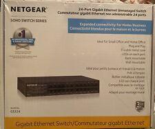 Nethgear 24-Port Gigabit Unmanaged Switch