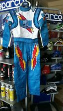 TUTA KART SPARCO X-LIGHT TAGLIA 46 - KARTING SUIT RACE SIZE 46  FA RACING KART
