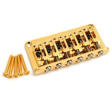 Gotoh Gold 12-string Adjustable Saddle Hardtail Guitar Bridge SB-5108-002