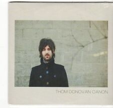 (EZ647) Thom Donovan, Canon - 2014 sealed CD
