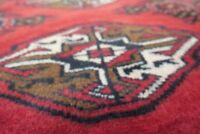 Authentic  Wool RNRN-140 3'2'' x 4'8'' Persian Turkeman Rug