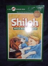 SHILOH By Phyllis Reynolds Naylor NEWBERY MEDAL DOG PB Signed by Author