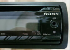 Sony CDX-M20 In-Dash AM/FM/CD Marine Stereo Receiver with remote