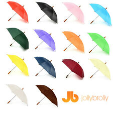 Plain Jollybrolly Umbrellas (White, Black, Red, Green, Orange, Purple, Blue )