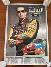 Lot of (4) Nascar Posters M&M's, Nextel, Sprint Cup, Busch, Ford, Earnhardt Jr.