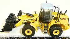 W190B New Holland Radlader Metal movable 1:87 H0 NIP #7 µ