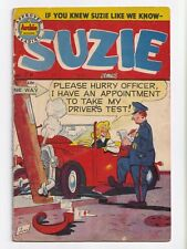 Suzie Comics #70 Canadian Edition Golden Age Bell Features 1949 VG