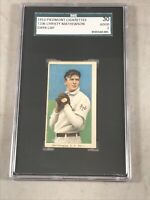 T206 CHRISTY MATHEWSON 1910 PIEDMONT CIGARETTES SGC 30 GOOD 2 HOF NO CREASE