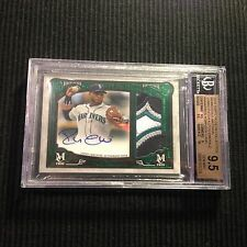 2016 TOPPS MUSEUM ROBINSON CANO *JUMBO PATCH AUTO #1/1 BGS 9.5/10*  4 COLOR 1/1