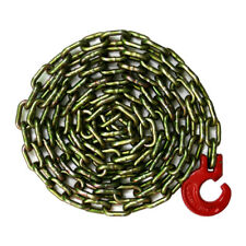 G70 Logging Chain Choker Chain 10 Feet with Choker Hook 3/8 Grade 70 26000 lbs