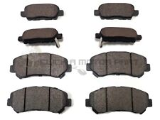 FOR NISSAN QASHQAI 2007-2013 1.5 DCi 1.6 2.0 FRONT & REAR BRAKE PADS 5 SEATER