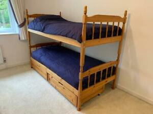 Lovely Wooden Bunk Bed With Ladder   Quick Sale Opportunity. Grab A Bargain!
