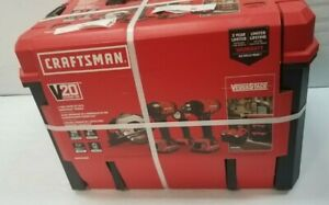 CRAFTSMAN VERSASTACK V20 4-Tool 20-Volt Max Power Tool Combo Kit with Hard Case