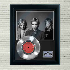 "Police ""Every Little Thing She Does Is Magic"" Silver Framed Record Display"