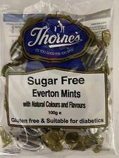 Sugar & Gluten Free Sweets EVERTON MINTS 80g Thornes Diabetic Vegetarian