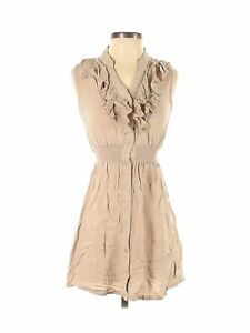 Poetry Clothing Women Brown Casual Dress S