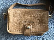 Ted Baker Ladies Brown Leather Crossover Bag