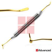 Titanium Gold Coated CIG6 Composite Tool Smooth Amalgam Condensing Super Plugger