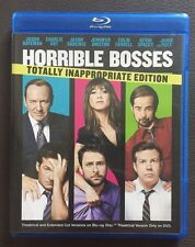 Horrible Bosses Blu-ray/DVD Set Totally Inappropriate Edition. No Digital Copy