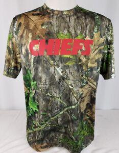 BRAND NEW Men's VF Imagewear TX3 Cool NFL Kansas City Chiefs Short Sleeve Shirt
