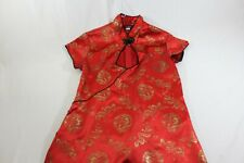 """Frederick's of Hollywood red kimono 16.5"""" across Tiny But Mint!Vintage"""