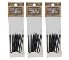 """Amish Made Straight Heavy Duty  1 5/8  """"Stainless Steel Hairpins  3 PACKS"""