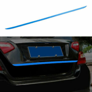 For 2013-2018 Nissan Altima Teana Blue Steel Rear Tailgate Trunk Lid Cover Trim