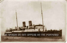 Vintage Postcard: S. S. Isles of  Jersey 1930's